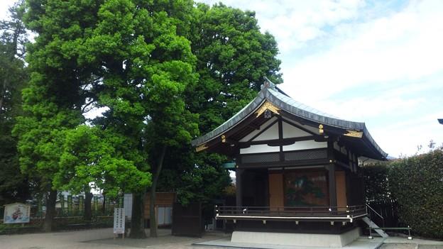 沼袋氷川神社(中野区)舞殿