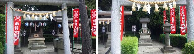 沼袋氷川神社(中野区)天王社・御嶽社
