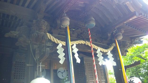 江古田氷川神社(中野区江古田)