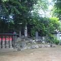 東福寺(中野区江古田)六地蔵 ・板碑