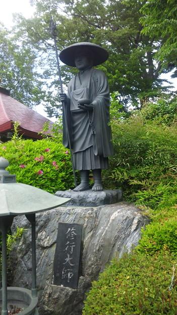東福寺(中野区江古田)修行大師像