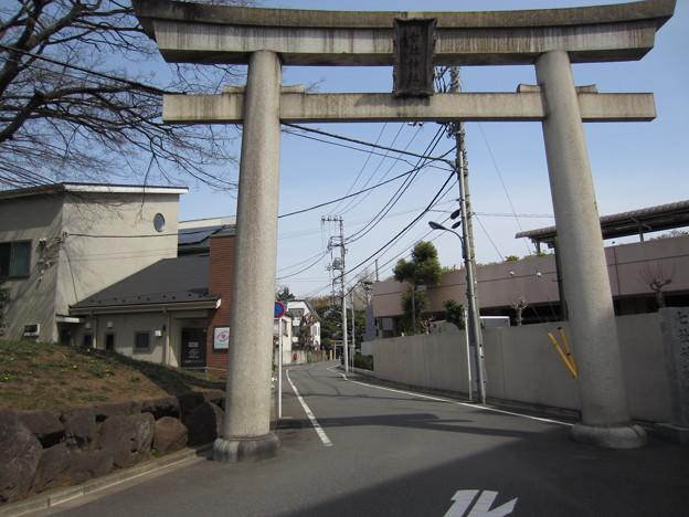 12.04.10.七社神社(東京都北区)一の鳥居