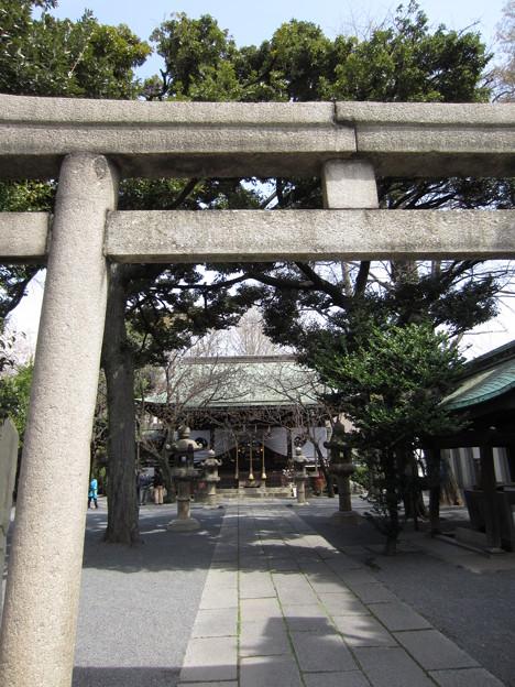 七社神社(東京都北区)二の鳥居