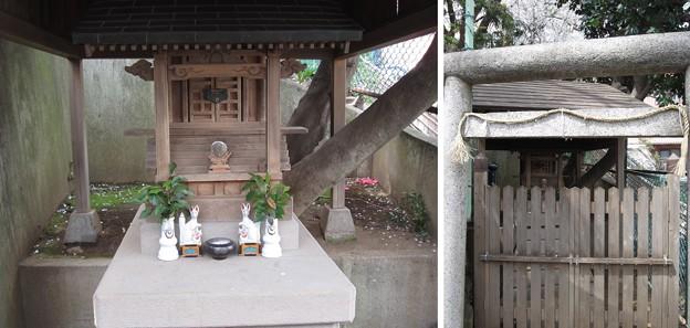 12.04.10.稲付城/静観寺(北区西赤羽)稲荷社