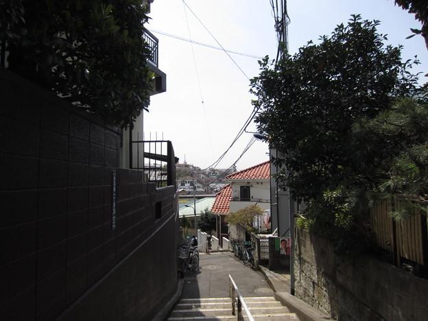 稲付城/静勝寺(北区西赤羽)より南西