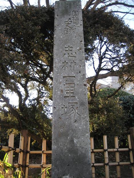 11.01.31.志村一里塚(板橋区志村)