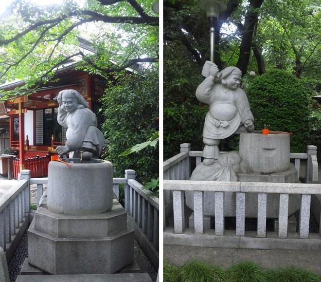 武蔵野稲荷神社(練馬区栄町)手水舎