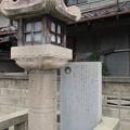 枚岡神社(東大阪市)一の鳥居・石燈籠