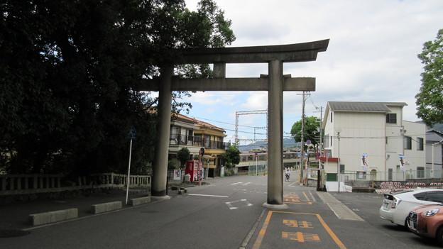 枚岡神社(東大阪市)北鳥居