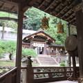 枚岡神社(東大阪市)中門・透塀