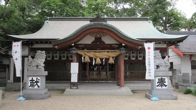 若江鏡神社(東大阪市)拝殿