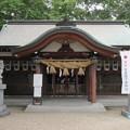 Photos: 若江鏡神社(東大阪市)拝殿