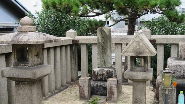 山口左馬介墓(東大阪市営 幸第1公園)