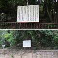 Photos: 大坂夏之陣小松山古戦場跡(柏原市)玉手山古墳 石室