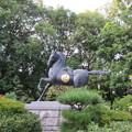 誉田八幡宮(羽曳野市)神馬