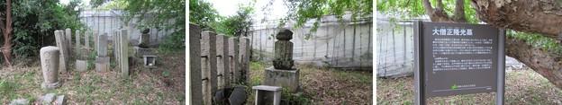 通法寺跡(羽曳野市)大僧正 隆光墓