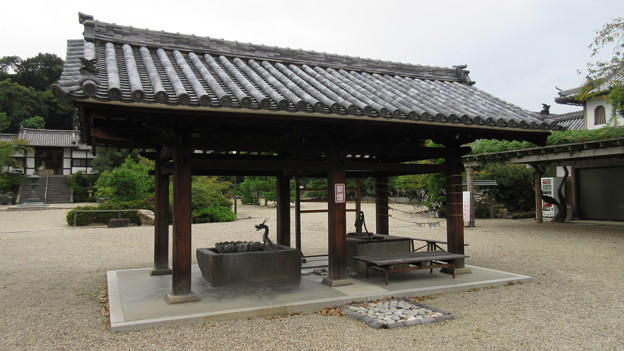 Photos: 叡福寺(南河内郡太子町)手水舎