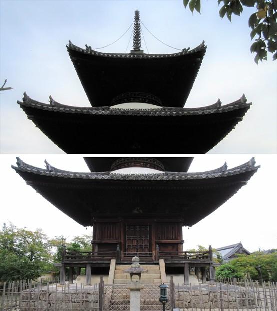 叡福寺(南河内郡太子町)多宝塔