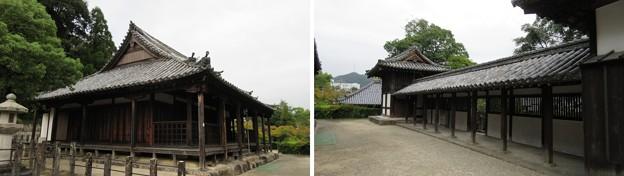 叡福寺(南河内郡太子町)浄土堂 ・二天門廊下