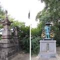 Photos: 叡福寺(南河内郡太子町)宝篋印塔 ・弘法大師像