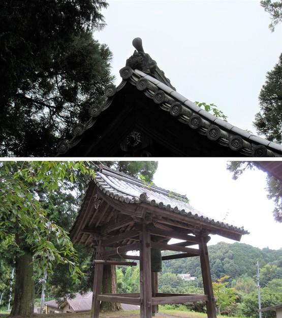弘川寺(南河内郡河南町)鐘楼