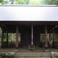 Photos: 千早城本郭(南河内郡千早赤阪村)千早神社拝殿