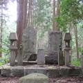 金剛山登山道(南河内郡千早赤阪村)某墓碑