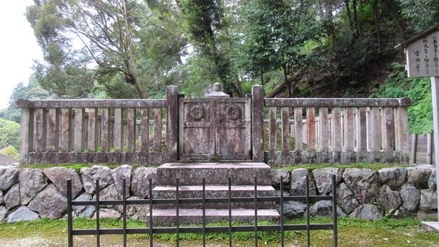 金剛寺(河内長野市)光厳天皇陵