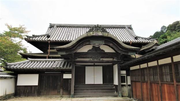 金剛寺(河内長野市)大玄関
