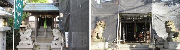 感田神社(貝塚市)二之社・七之社