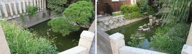 感田神社(貝塚市)貝塚御坊水濠跡