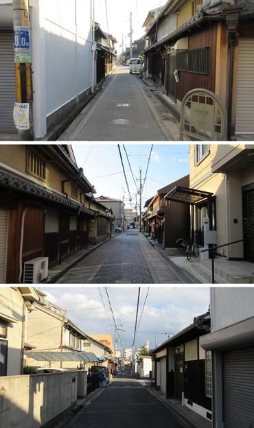 貝塚御坊寺内町(大阪府貝塚市)