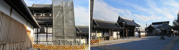 Photos: 貝塚御坊 願泉寺(貝塚市)太鼓堂・山門