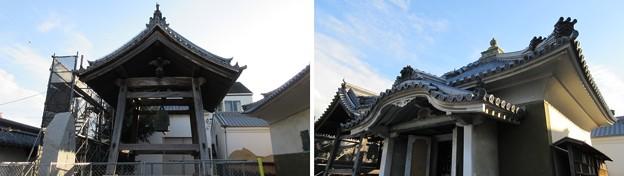 貝塚御坊 願泉寺(貝塚市)鐘楼・経蔵