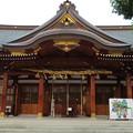 岸城神社(岸和田市)拝殿