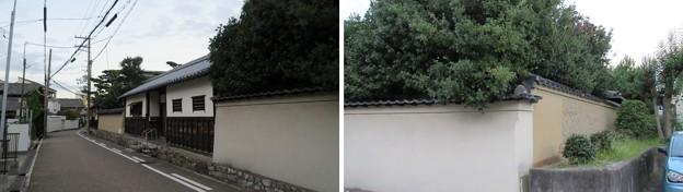 岸和田城三郭(岸和田市)佐々木家住宅 長屋門