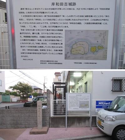 岸和田古城(岸和田市)