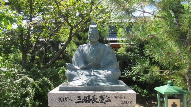 南宗寺(堺市堺区)三好長慶像