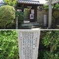 Photos: 南宗寺(堺市堺区)天慶院・山上宗二供養塔 一会塚