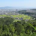 Photos: 芥川山城(高槻市)西郭群 本郭下段より