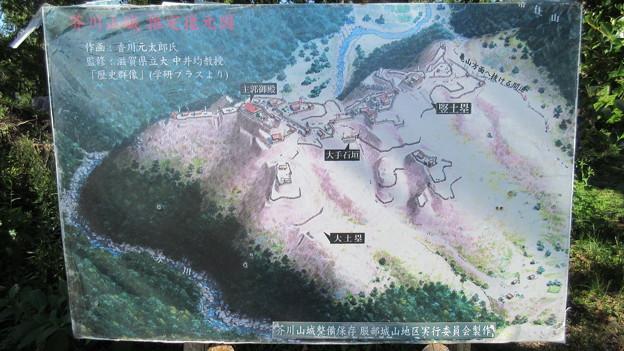 Photos: 芥川山城(高槻市)西郭群 本郭御殿