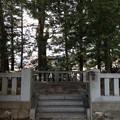 諏訪大社 下社秋宮(下諏訪町)神宮遥拝所