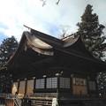 諏訪大社 下社秋宮(下諏訪町)神楽殿