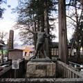 Photos: 諏訪大社 上社本宮(諏訪市)雷電為右衛門像