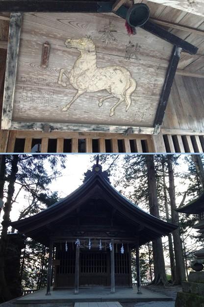 諏訪大社 上社本宮(諏訪市)駒形屋