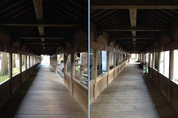 諏訪大社 上社本宮(諏訪市)布橋