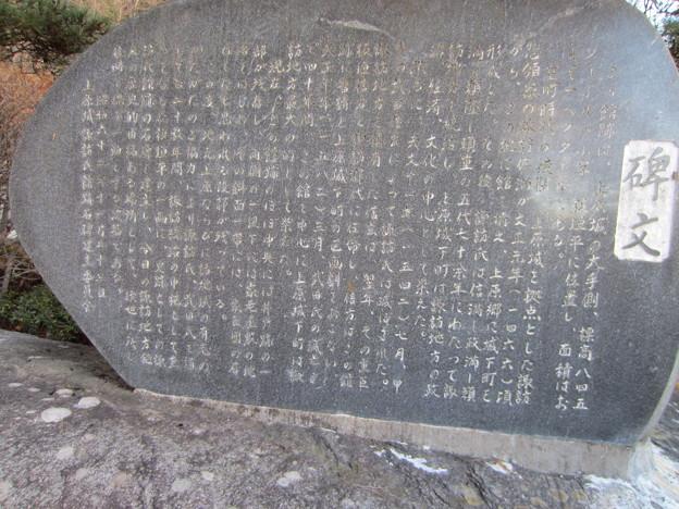 13.12.12.上原城諏訪氏館跡(茅野市)