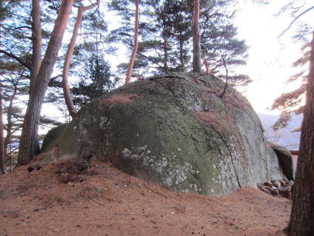 Photos: 上原城(茅野市)物見岩