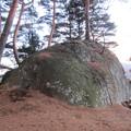 上原城(茅野市)物見岩