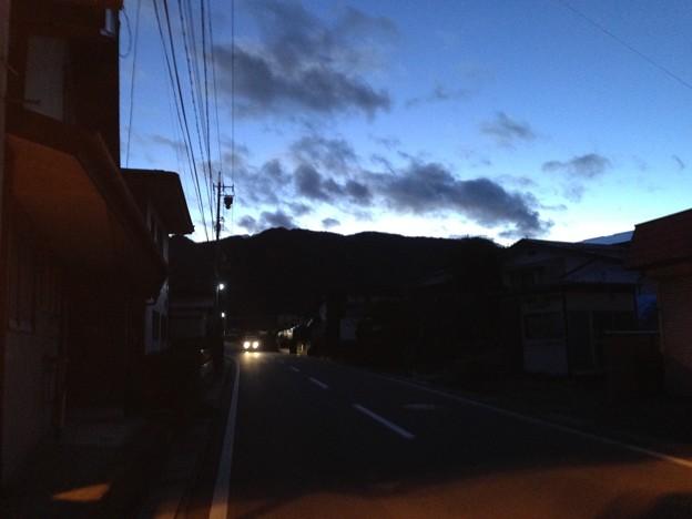 金子城(諏訪市)道祖神より南西
